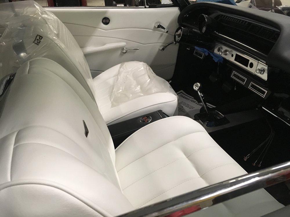 New interior in Impala