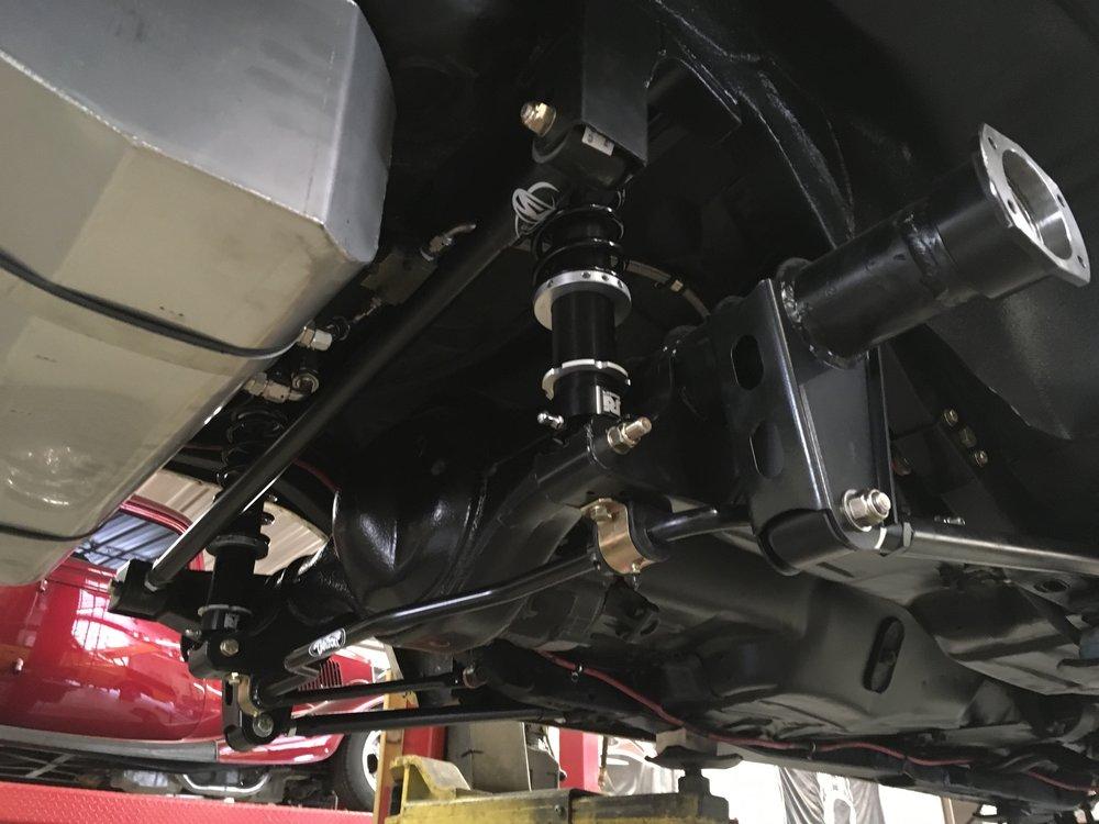 Drive shaft on 69 Firebird