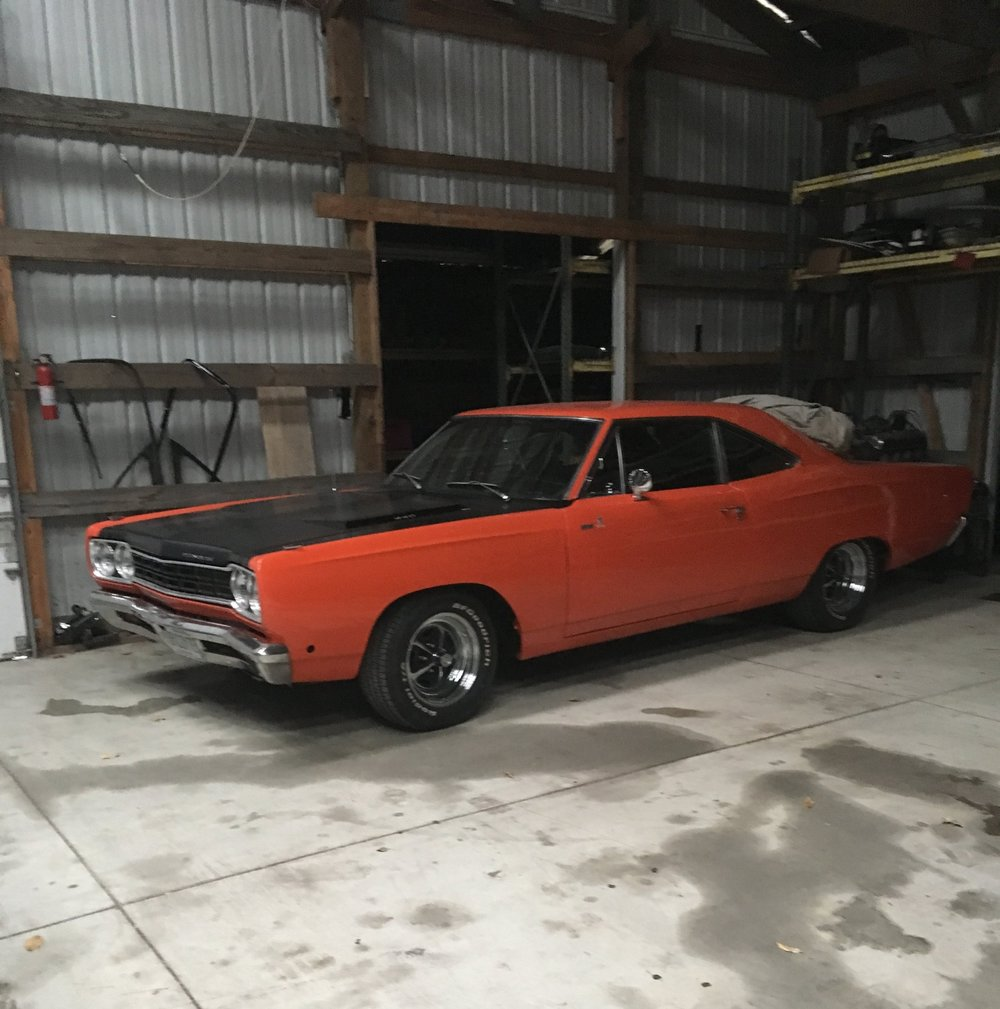 Follow the progress of this 68 Roadrunners full body and paint restoration
