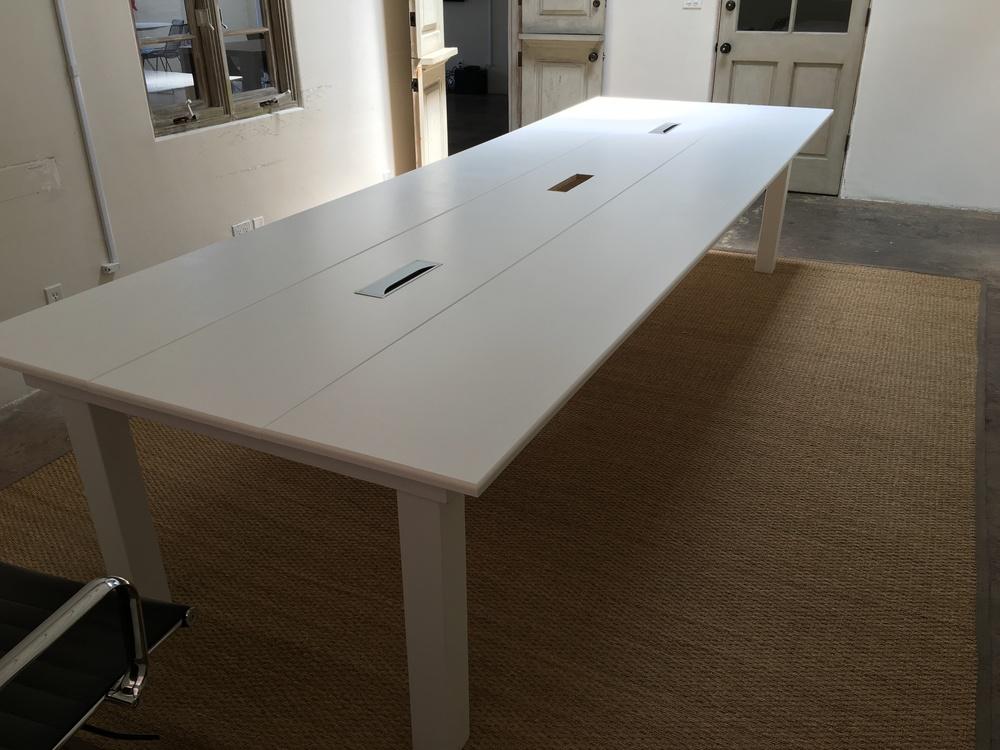 Custom Gallery Surfridge Design - 12 ft conference table