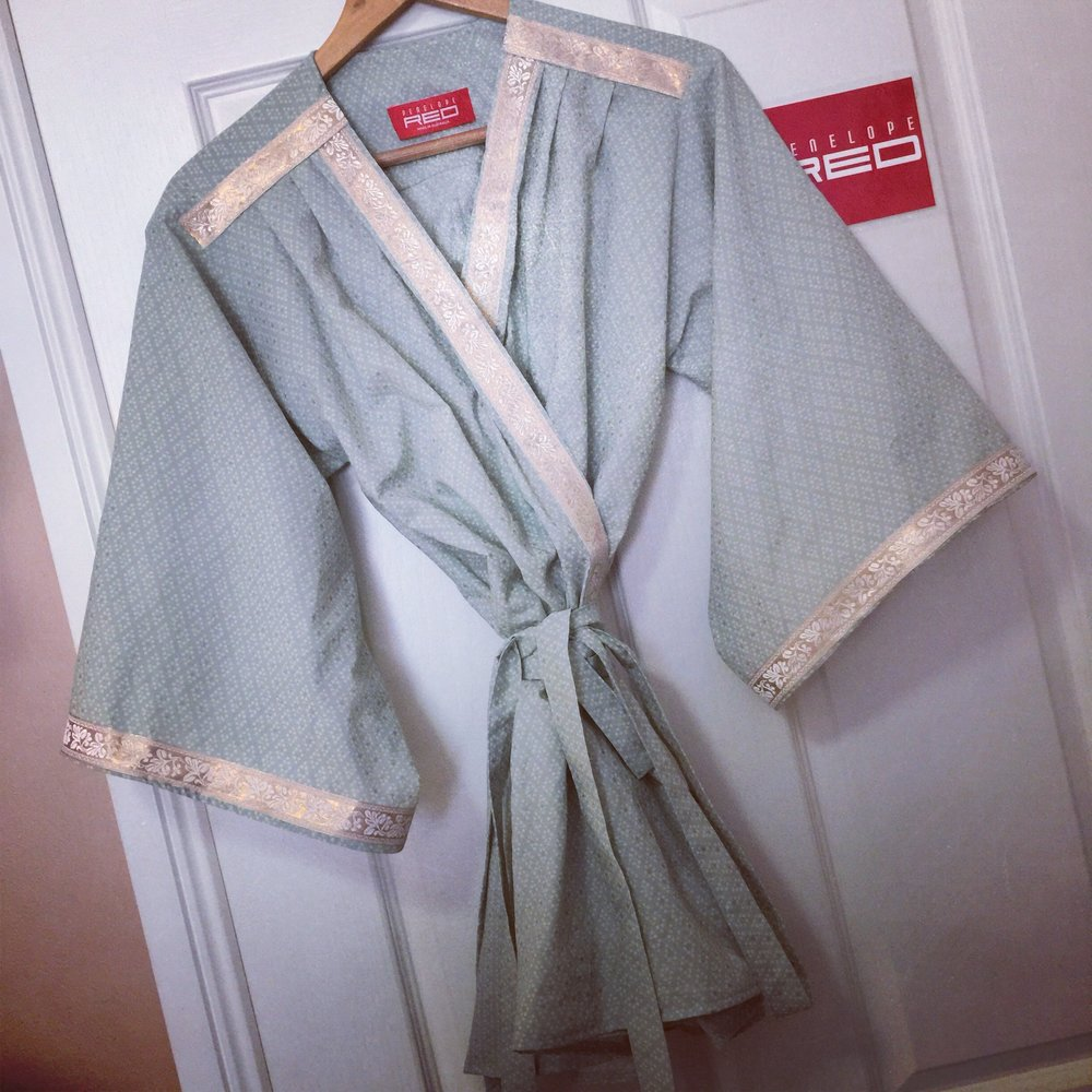 The Pastel Kimono. I decided to create this since my other Kimono print is extremely bright, and I realize that this brightness isn't always for everyone!