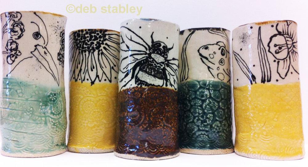 vases / Deb Stabley