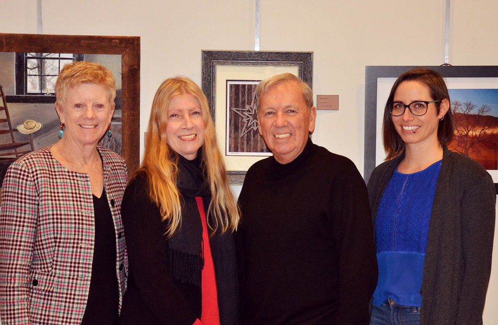Left to Right:   Donna Wilson, Vice President;  Carol Ann Simon Cillo, President;    Ron McGuinness, Treasurer;   Jennifer Deitloff, Secretary