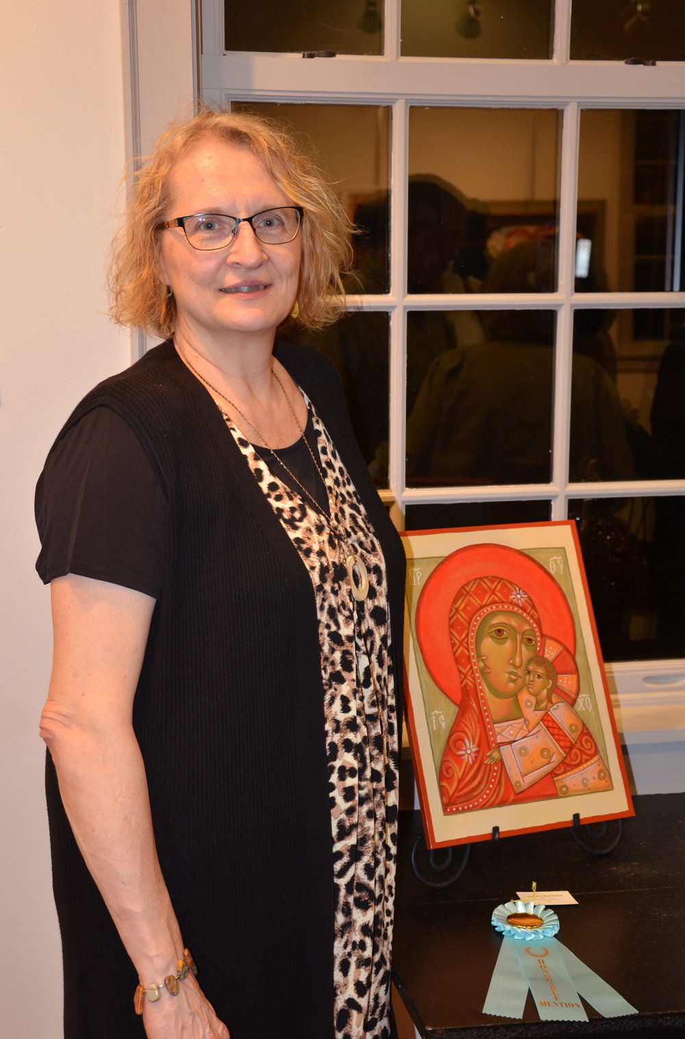 Honorable Mention - Icon by Ann Marie Furdock