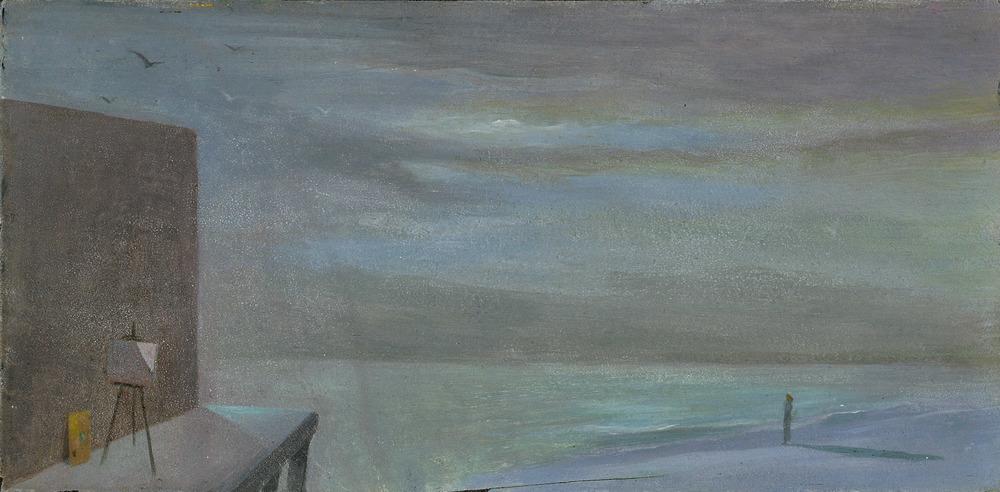 Abandoned Easel #4