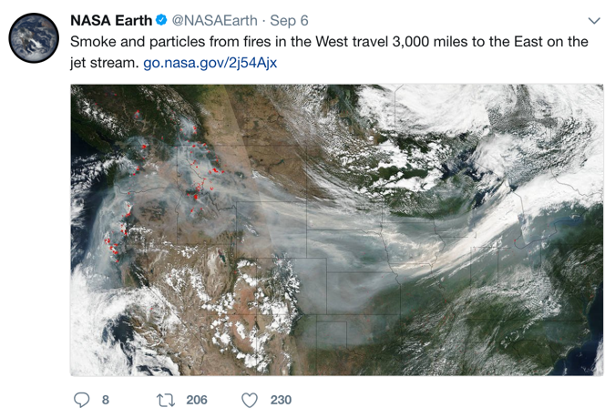 Image Source: NASA Earth Twitter