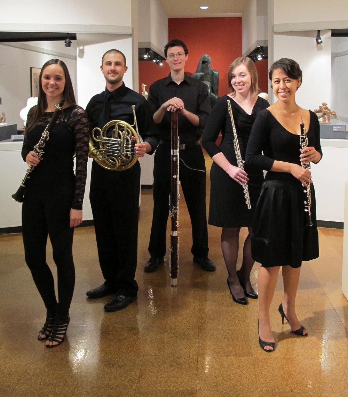 Natalie Groom, clarinet Michael Mesner, horn Matthew Kowalczyk, bassoon Kate Nichols, flute Rachel Kamradt, oboe