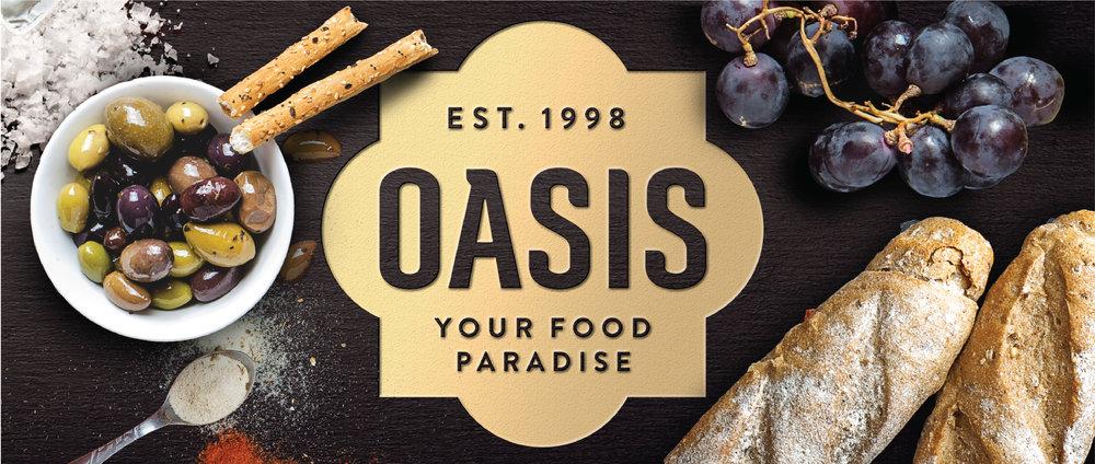 Oasis Bakery Rebrand