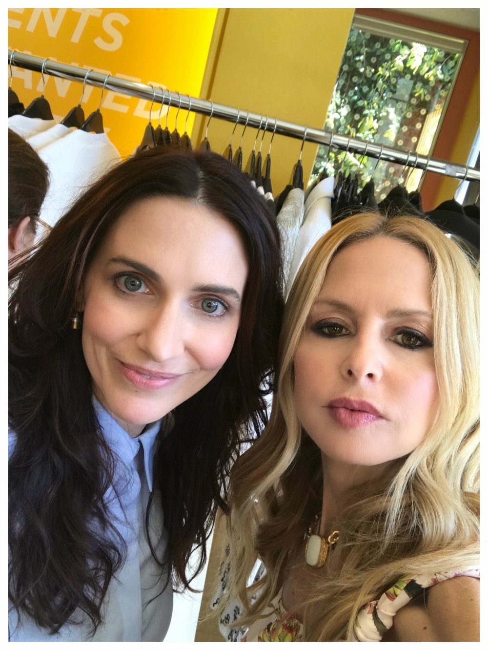 With Rachel Zoe at Bumble Hive Los Angeles