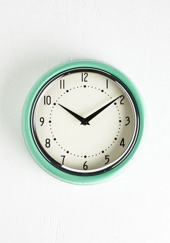 Analog Your Hours Clock @  Mod Cloth  $34.99