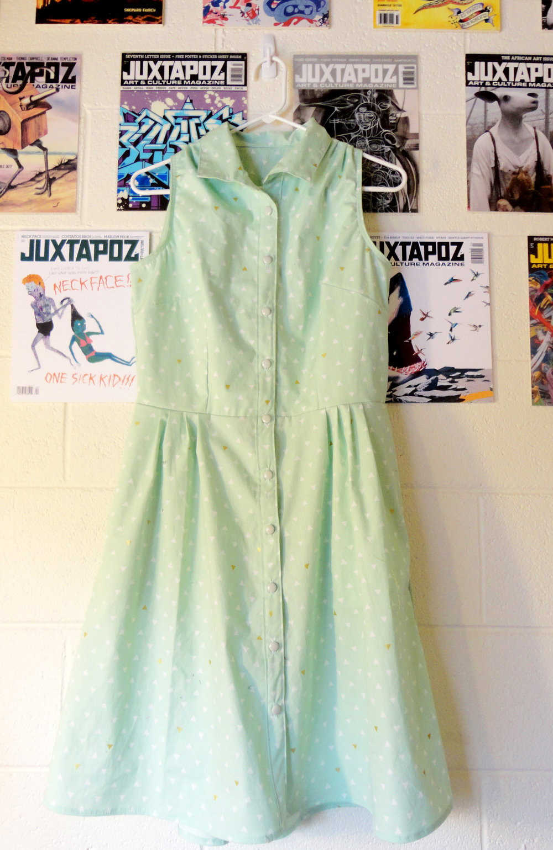 Retro Mint Dress — Mild Mile