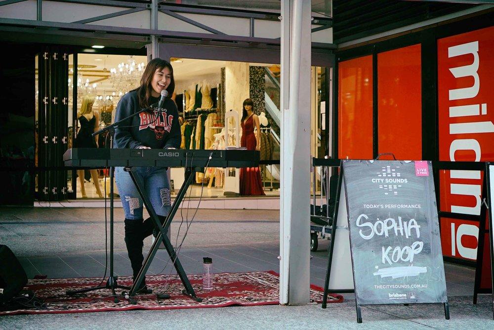 Sophia Koop at City Sounds 2018