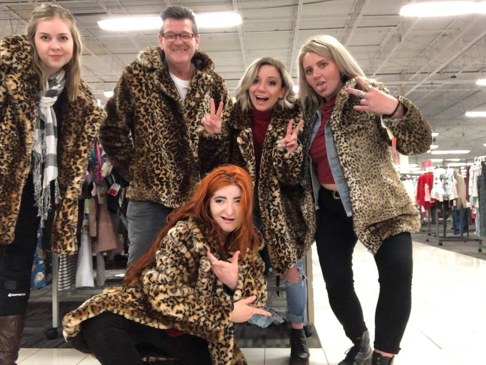 As Kaitlyn says, if you're visiting in the cooler months make sure you bring a warm coat. Bonus points if it's faux leopard print!
