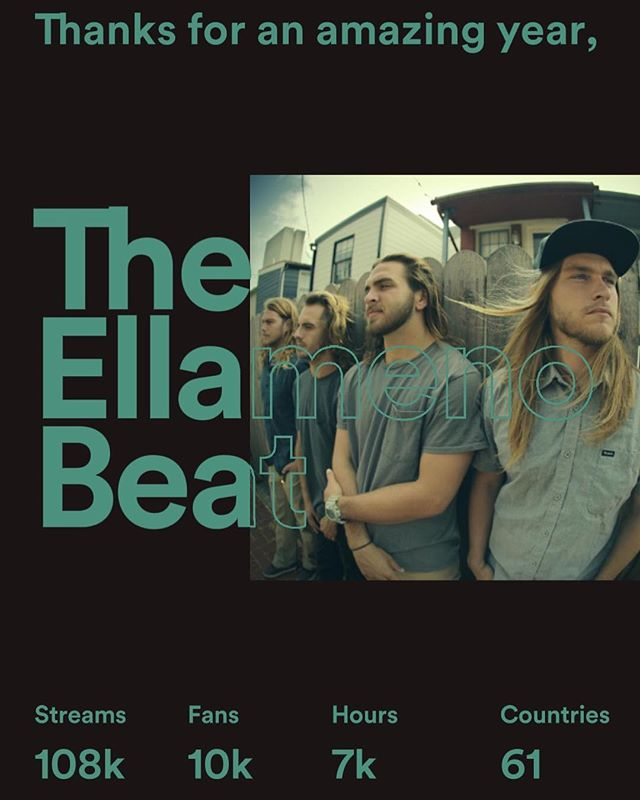 Thank you all! 🙏❤️ Who's ready for new music? #theellamenobeat