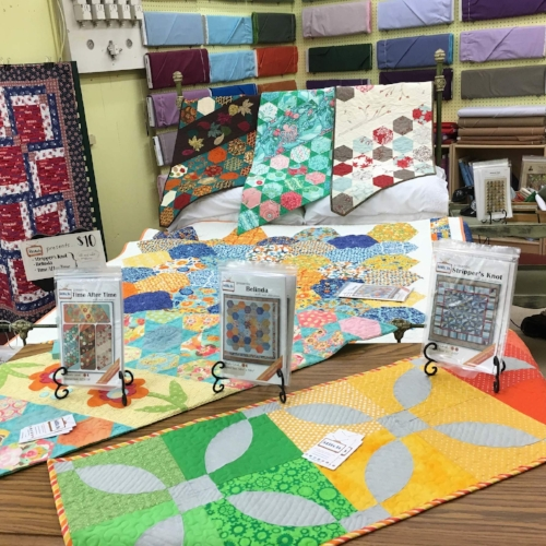 Quilt Display at The Stitch TV Show's Pattern Release Party