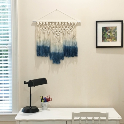 GORGEOUS Macrame Wallhanging by WhiskerRow