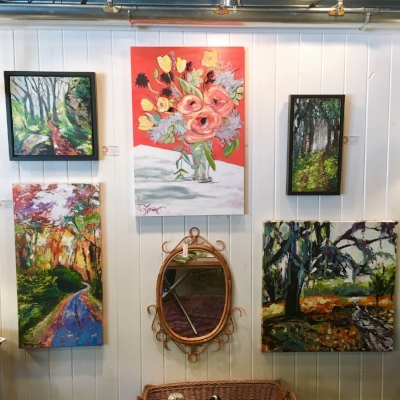 Tammy's paintings at Personify