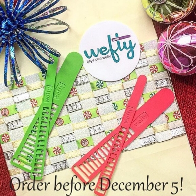 PS There's still time to get your own WEFTY for Christmas!