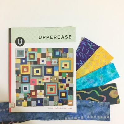 "UPPERCASE Magazine, ""for the creative and curious."""