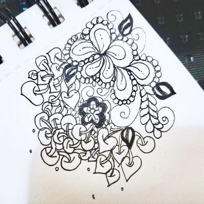 Vicki's amazing doodles