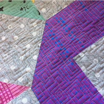 Christa's gorgeous wonky squares