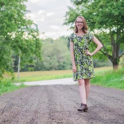 The Forsythe Dress by Ada Spragg