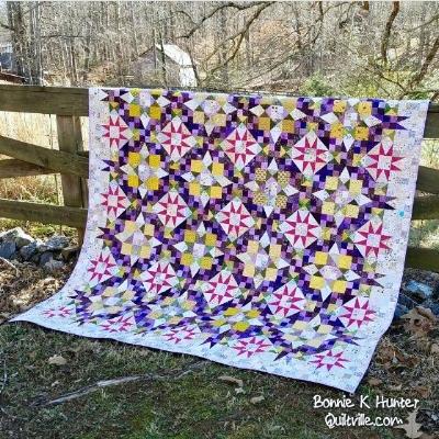 Bonnie Hunter's Original En Provence Quilt