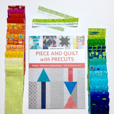 Piece and Quilt Hop Along on the String and Story Blog