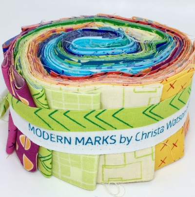 Modern Marks Fabric by Christa Watson for Benartex (Photo by HollyAnne Knight at String and Story)