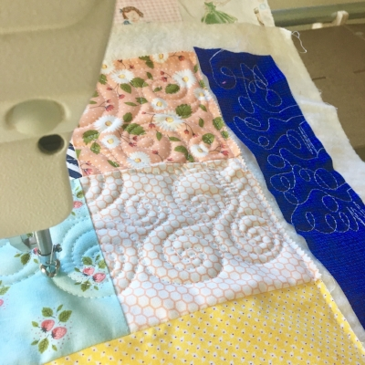 Testing Longarm Tension on String & Story