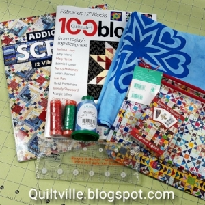 A Very Quilty Christmas from Bonnie Hunter