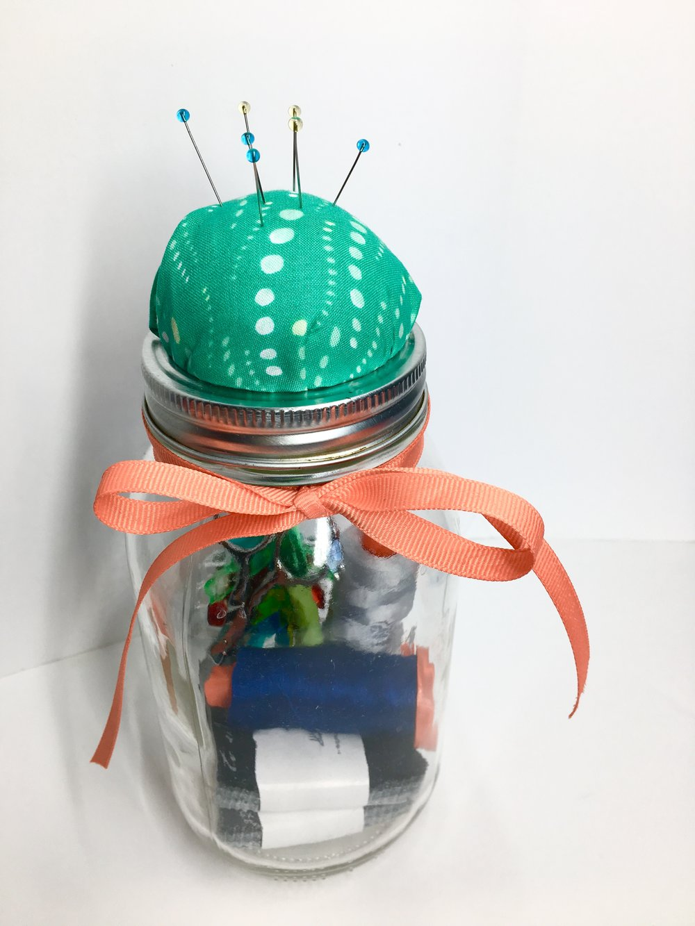 DIY Pin Cushion Gift Jar with HollyAnne Knight of String & Story