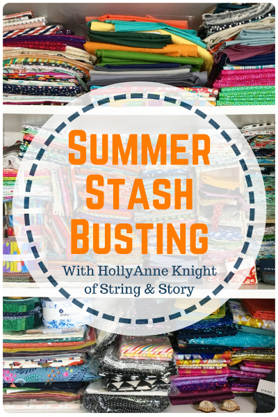 First Annual String & Story Summer Stash Busting