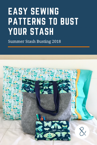 Easy Sewing Patterns to Bust Your Stash with HollyAnne Knight of String & Story
