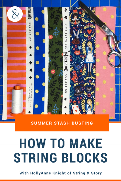 How to Make String Blocks with HollyAnne Knight of String & Story