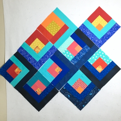 Lanterns of Hope Quilt Blocks by HollyAnne Knight of String & Story