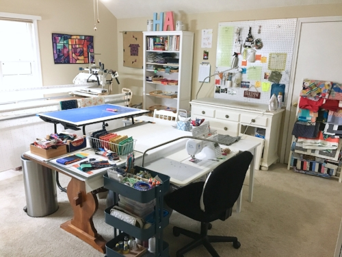 String & Story Sewing Room