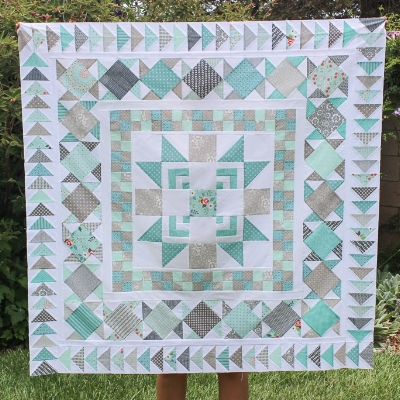 Moda Bakeshop Choose Your Own Adventure QAL Pieced by Kristin Esser; How to Make Any Quilt Pattern Scrappy (and Love It!) with HollyAnne Knight of String & Story