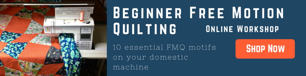 Beginner Free Motion Quilting with HollyAnne of String & Story
