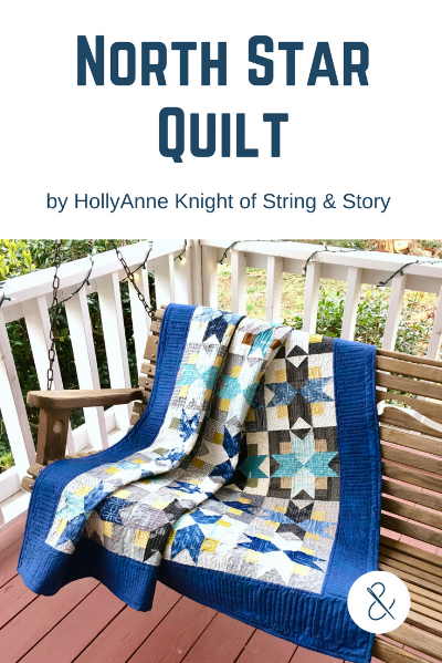 North Star Quilt Block Pattern by HollyAnne Knight
