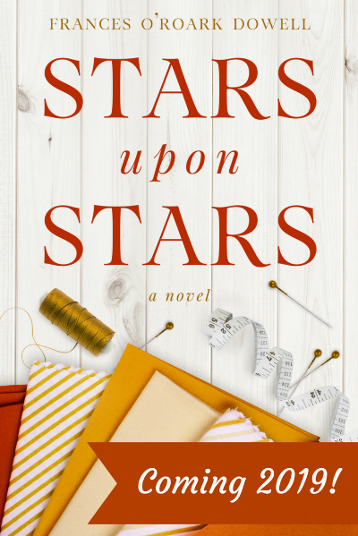 Stars Upon Stars by Frances O'Roark Dowell, Interview with the author by HollyAnne Knight of String & Story