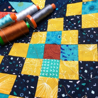 How to Quilt Granny Squares with HollyAnne Knight of String & Story
