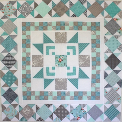 Moda Bake Shop Quilt A Long In Progress by Kristin Esser of Simple. Handmade. Everyday.