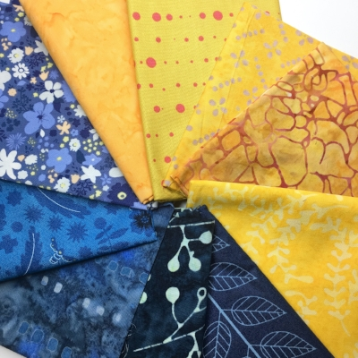 How to Choose Fabrics for a Two Color Quilt with HollyAnne Knight of String & Story