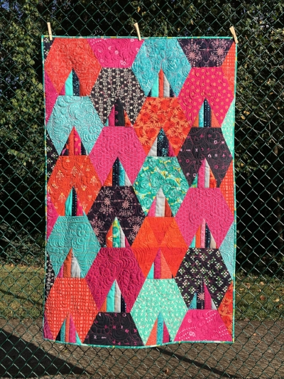 Aldebaran Quilt Pattern by HollyAnne Knight of String & Story