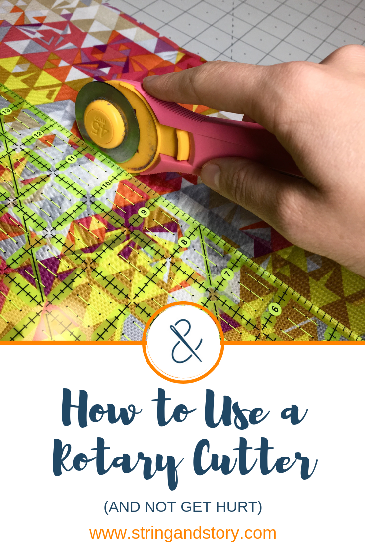 How to Use a Rotary Cutter with HollyAnne Knight of String & Story