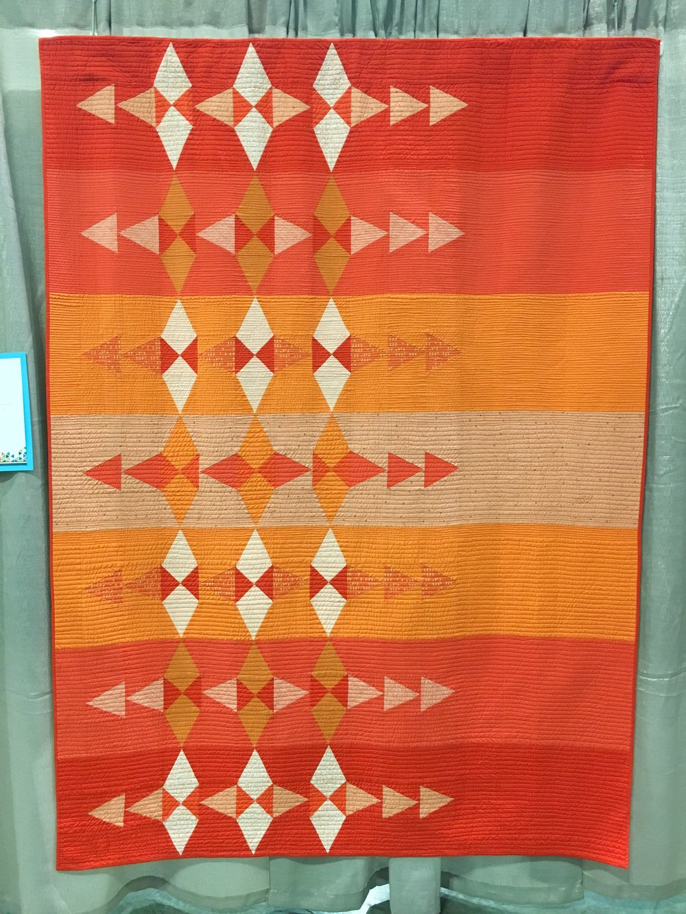 The Orange Quilt by Shannon Page
