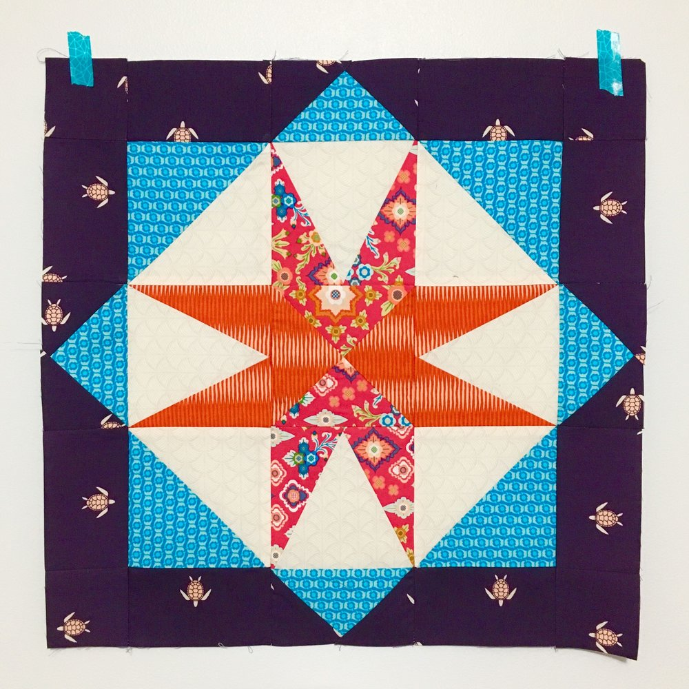 Star Island Quilt Pattern by HollyAnne Knight of String & Story