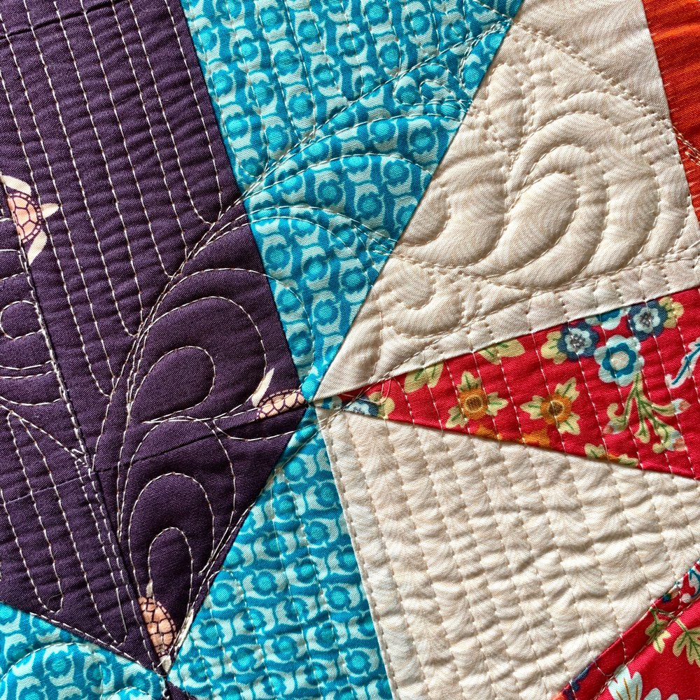 Quilting In Layers- Basics of Custom Quilting with HollyAnne Knight of String & Story