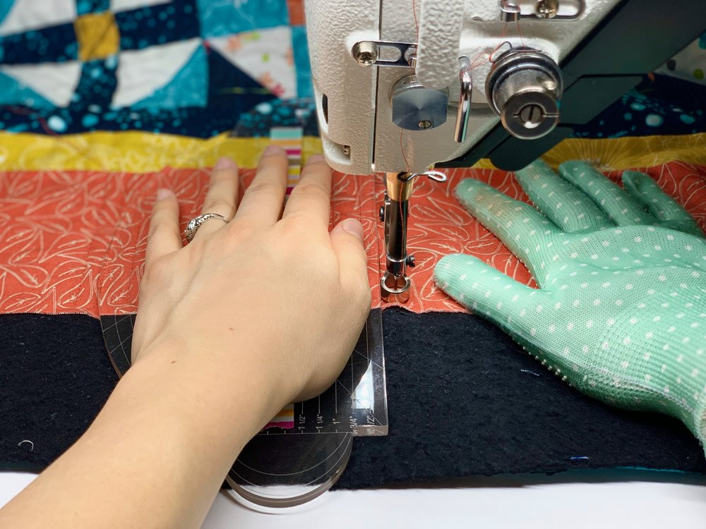 Basic Ruler Work on the Domestic Machine with HollyAnne Knight of String & Story